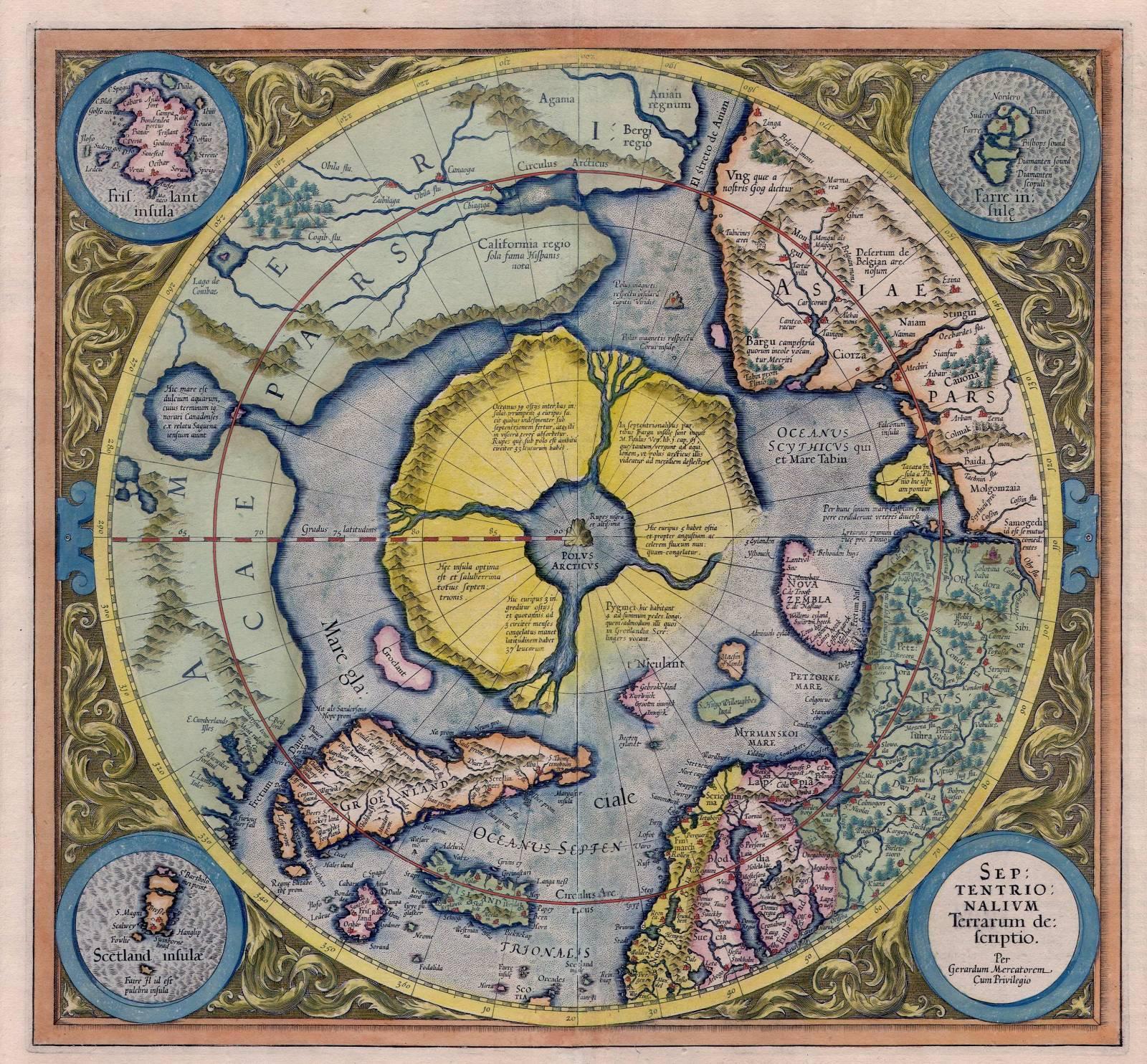 Карта Даарии в полный размер